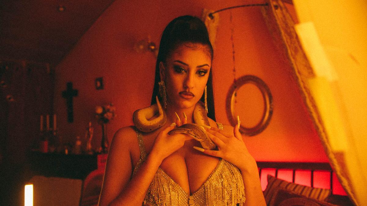La cantante Alba Casas