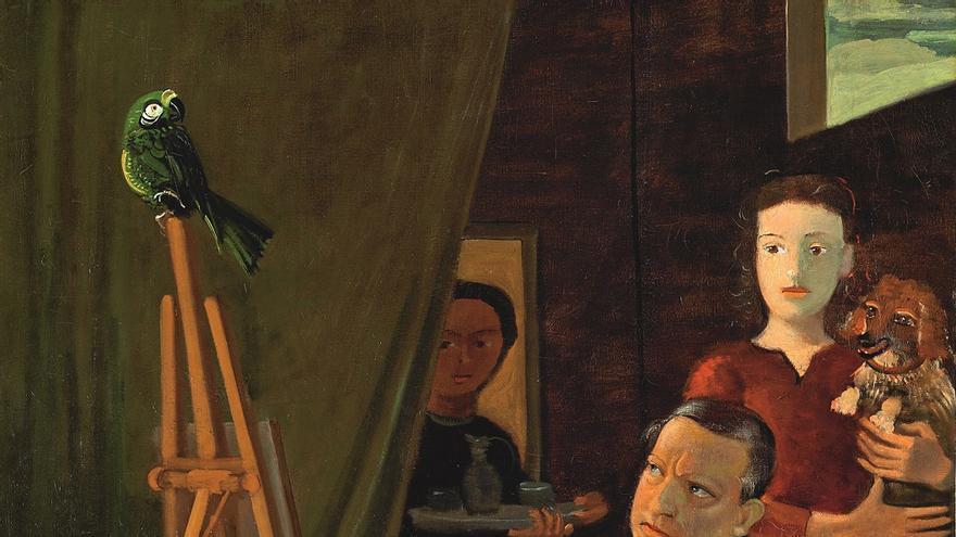 André Derain Le Peintre et sa famille [El pintor y su familia], 1939