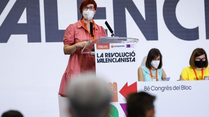 ºàgueda Micó Durante El VIII Congreso Nacional Del Bloc Compromís