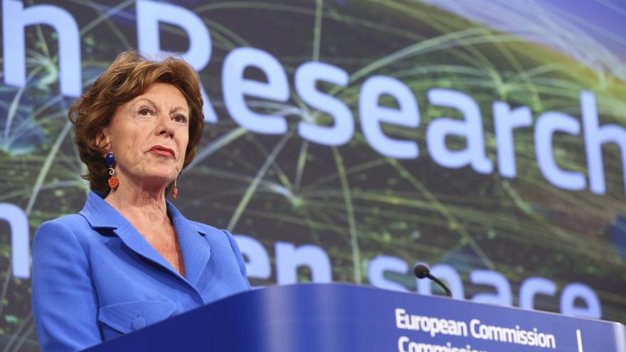 Kroes lamenta que la financiación es insuficiente para el objetivo 2020