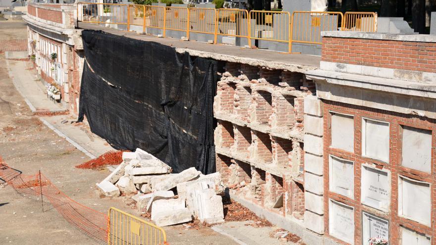 Nichos en el cementerio de La Almudena, en septiembre de 2013. Foto: cc Jaime Lissavetzky vía Flickr