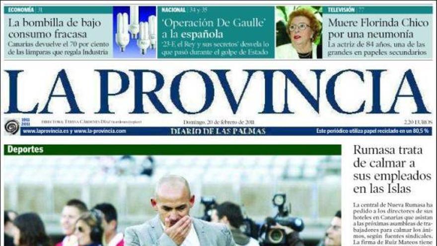 De las portadas del día (20/02/11) #1