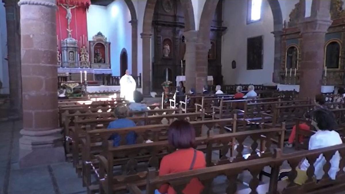 Misa en La Gomera