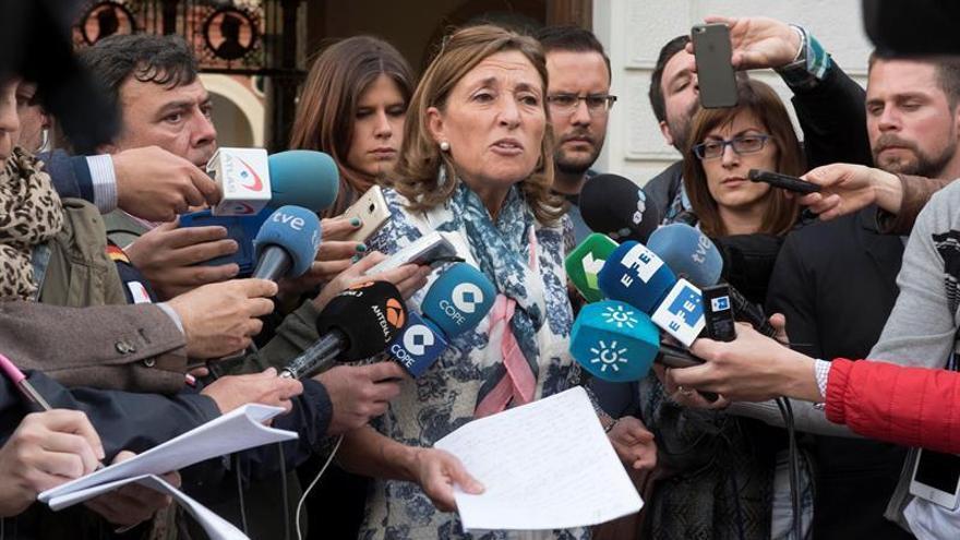 Isabel Nieto a la salida del juzgado | Imagen de archivo