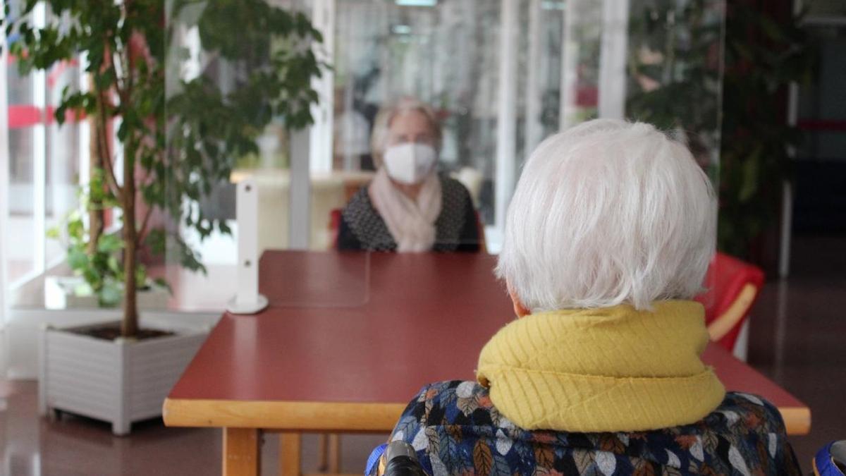 COVID en residencia de mayores, ancianos, vejez (archivo)