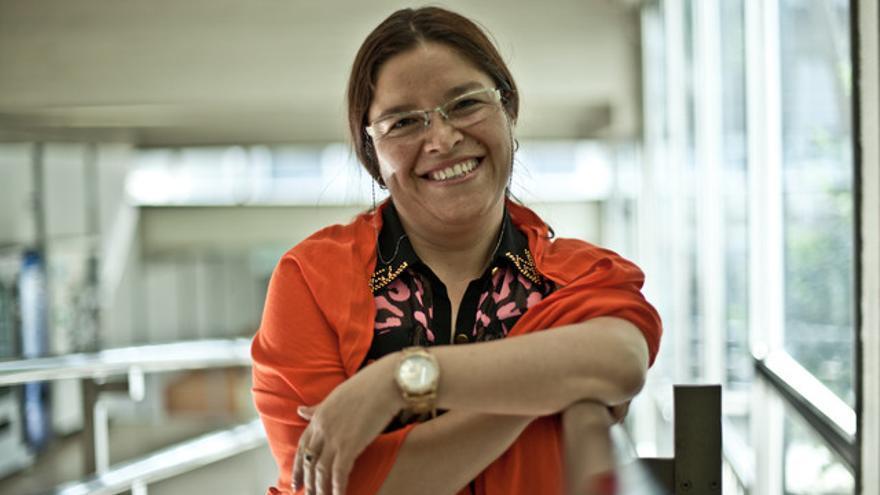 Marysol Avendaño, integrante del Centro de Promoción y Cultura | Pablo Tosco/ OXFAM Intermon
