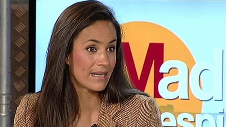 Begoña Villacís, candidata de Ciudadanos al ayuntamiento de Madrid.