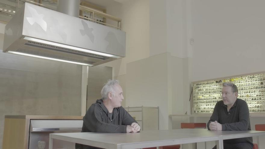 """El documental """"Las huellas de elBulli"""" recorre el legado de Adrià en Movistar"""