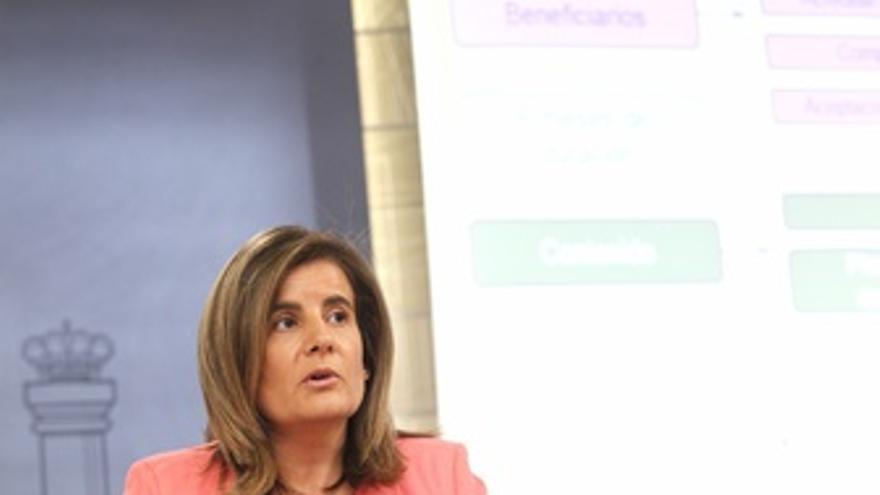 Ministra de Empleo, Fátima Báñez