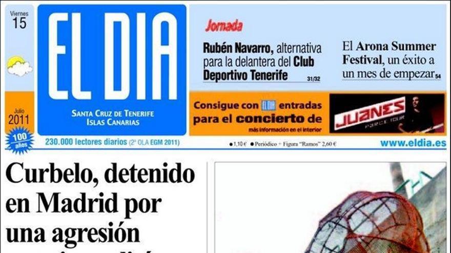 De las portadas del día (15/07/2011) #2