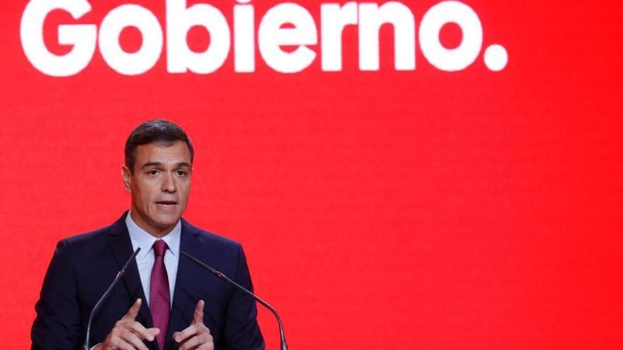 """Sánchez asegura que Cataluña necesita """"primero ley y luego diálogo"""""""