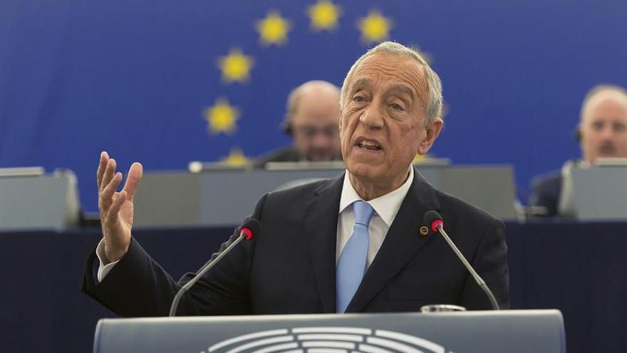 Rebelo de Sousa: Alemania debe actuar para evitar multas a España y Portugal