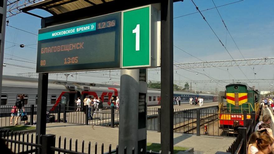 Estación Transiberiano.