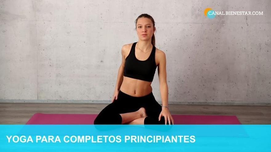 Yoga para principiantes: una relajación y cinco ejercicios sencillos