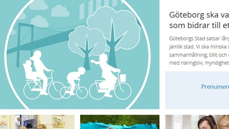 Gotemburgo, la ciudad igualitaria // web: http://goteborg.se