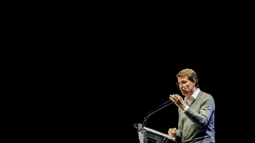 """Feijóo pide el voto en Ourense para tener estabilidad desde """"el minuto uno"""""""