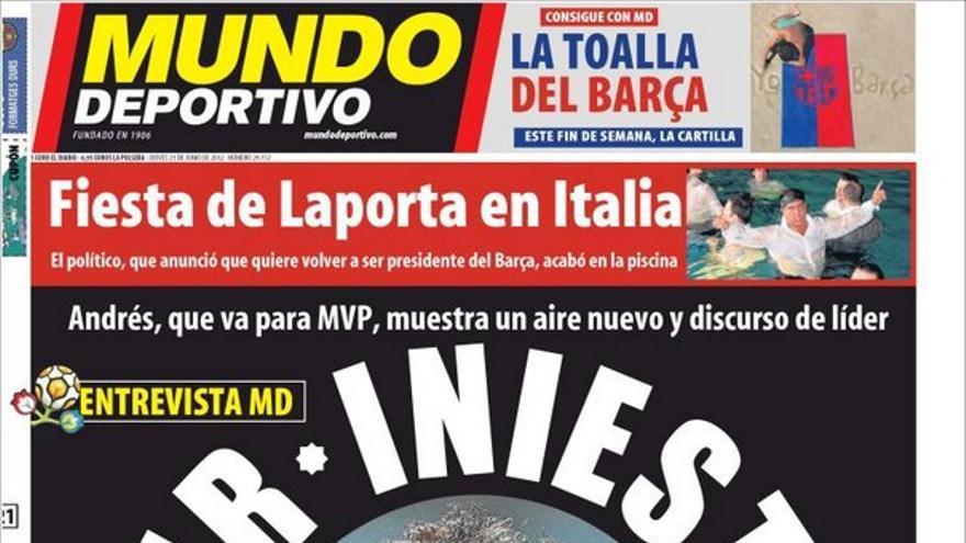 De las portadas del día (21/06/2012) #14