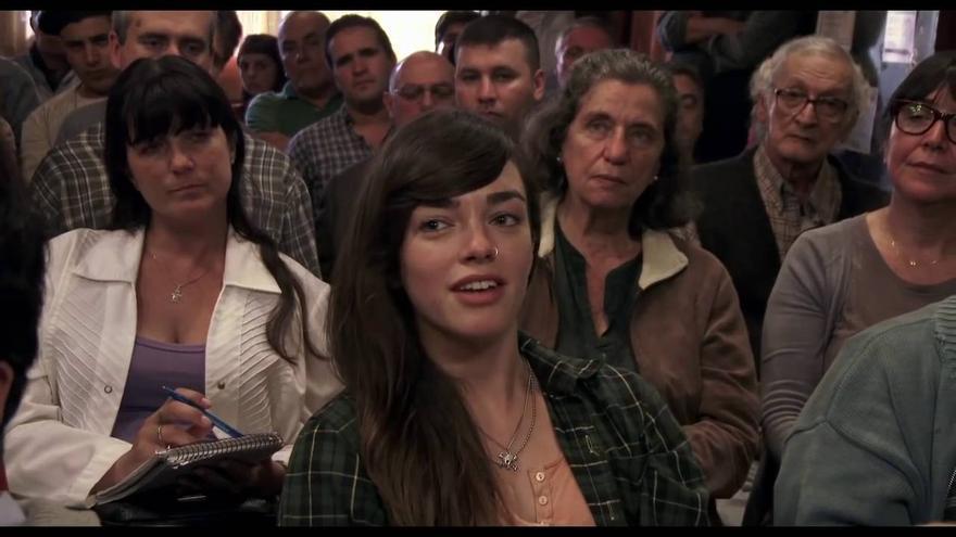 Fotograma del filme `El ciudadano ilustre´