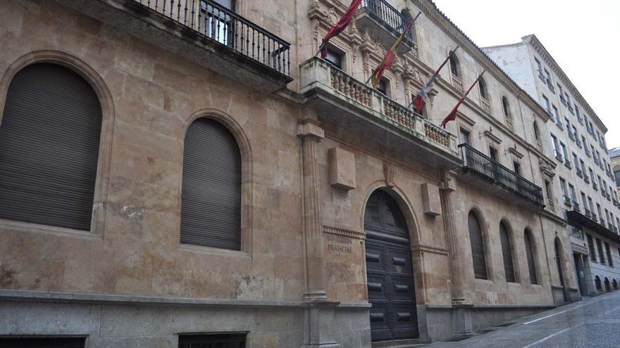 Fachada de la Diputación Provincial de Salamanca. /J.S.