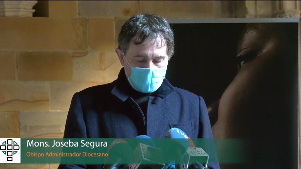Archivo - Monseñor Joseba Segura