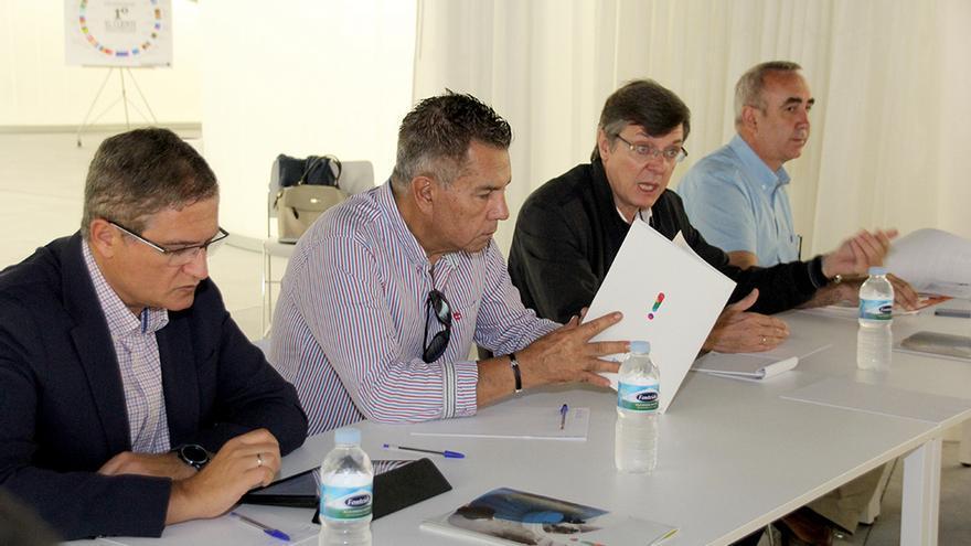 Reunión de Cabildo y ayuntamientos para analizar la nueva red de Titsa en el sur de la isla
