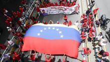 "El Chavismo se manifiesta en rechazo al informe ""sesgado"" de DDHH de la ONU"