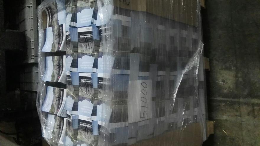 Las cien urnas permanecerán depositadas en el almacén de Igualada tras informar la Guardia Civil a la Fiscalía