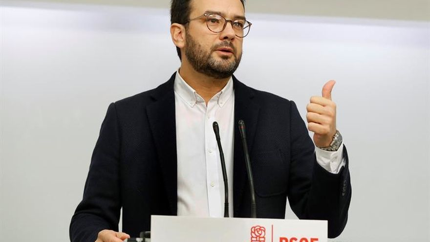 """El PSOE, sobre Trillo: """"Dimite tarde y mal. Todavía tiene que pedir perdón"""""""