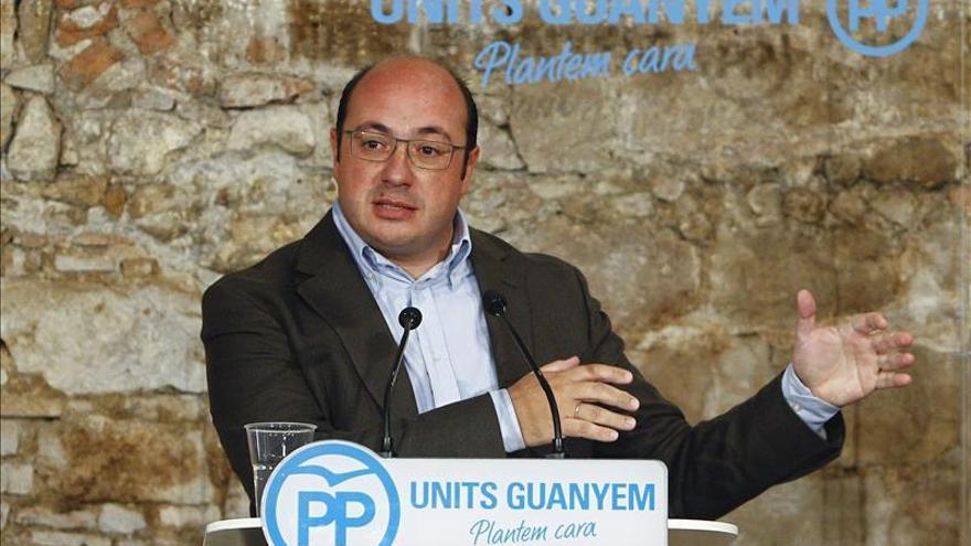 El presidente Murcia pide un gran pacto nacional que asegure el agua a todos los españoles