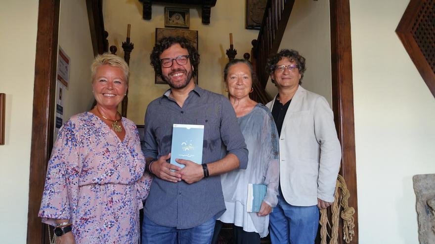 Rosa Aguado, Ramón Betancor, Elsa López e Ignacio Pastor. Foto: LUZ RODRÍGUEZ.