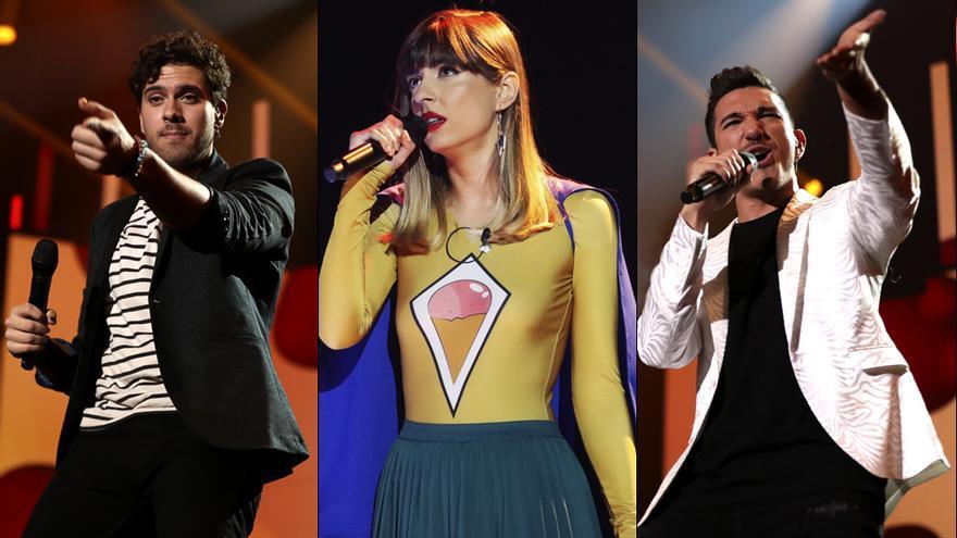Javy Ramírez, Maialen y Bruno en 'OT 2020'