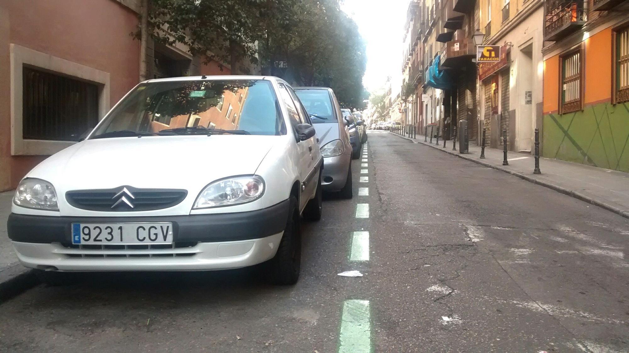 La calle San Bernardino, en el centro de Madrid, sin tráfico este domingo | SOMOS MALASAÑA