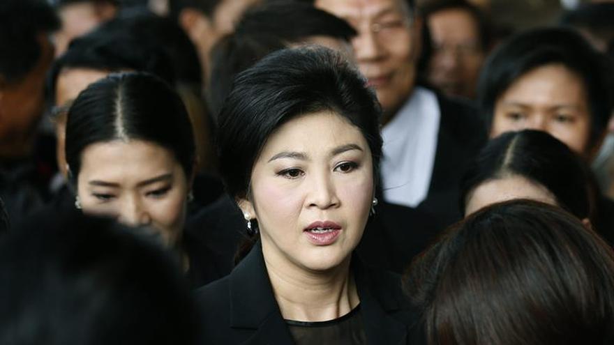 Las ayudas al arroz enfrentan a la junta tailandesa con la ex primera ministra
