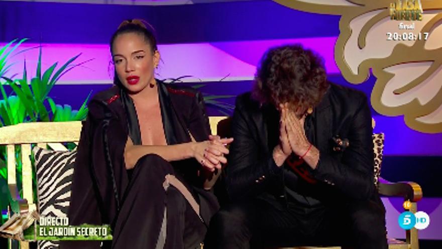 Samira y Pavón, arrepentidos por su noche de pasión en 'La casa fuerte 2'