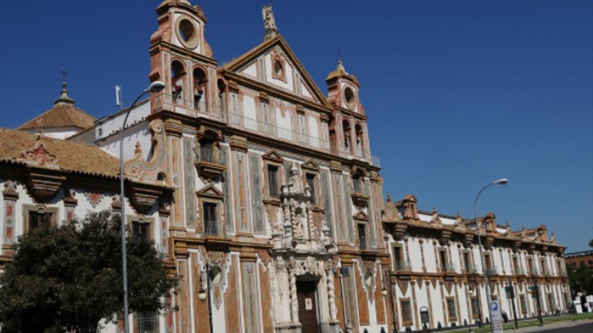 Imagen de la fachada del Palacio de la Merced, sede de la Diputación