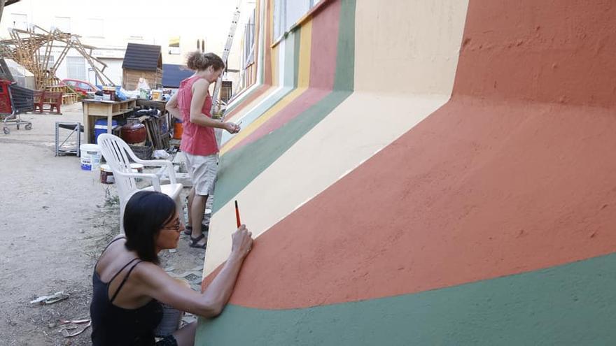 Murales de Tetuán, ¿creación individual o colectiva?