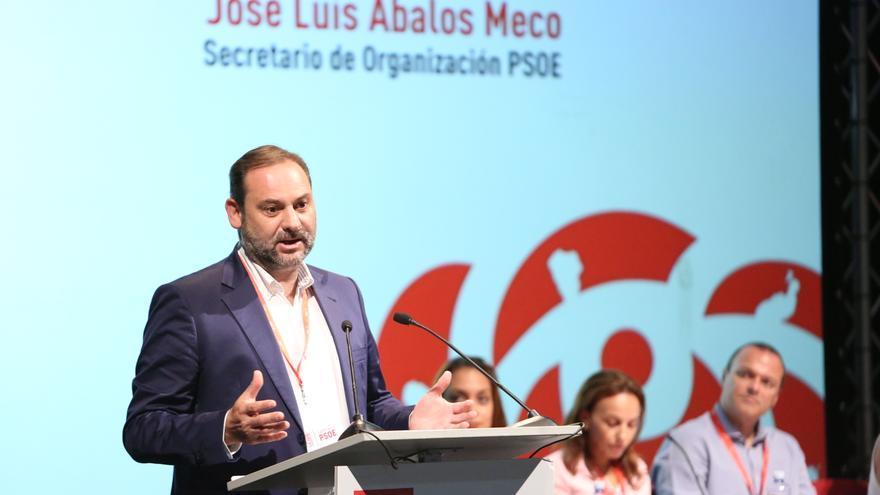 El secretario federal de Organización del PSOE, José Luis Ábalos