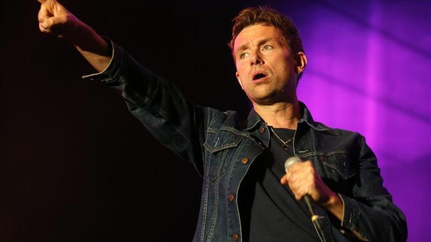 """Blur presentó nuevo álbum """"The Magic Whip"""" en un concierto privado en Londres"""