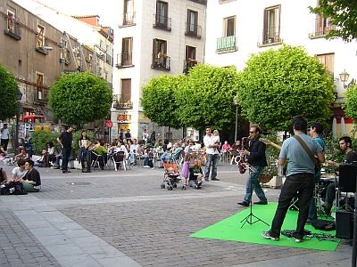 Jazz en la plaza   Foto A.P.