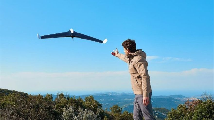 Parrot Disco, el dron francés que busca competir ante la supremacía china (Imagen: Parrot | Instagram)