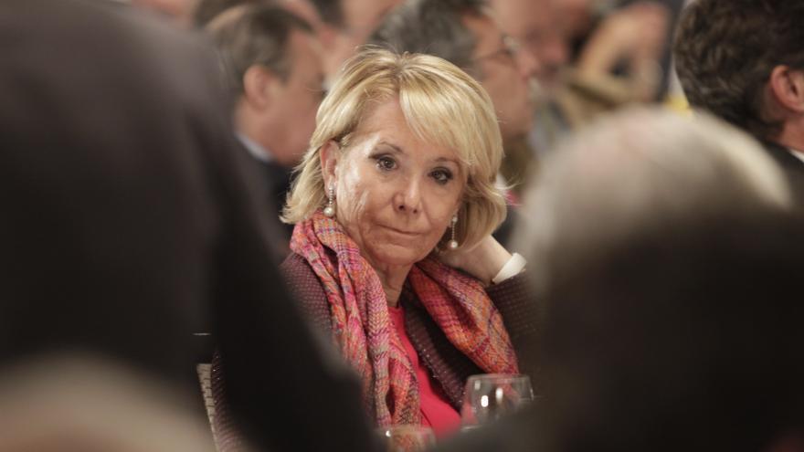 """Aguirre dice que Botella """"lo está haciendo muy bien"""" con la huelga y que la basura es culpa de """"vándalos y piquetes"""""""