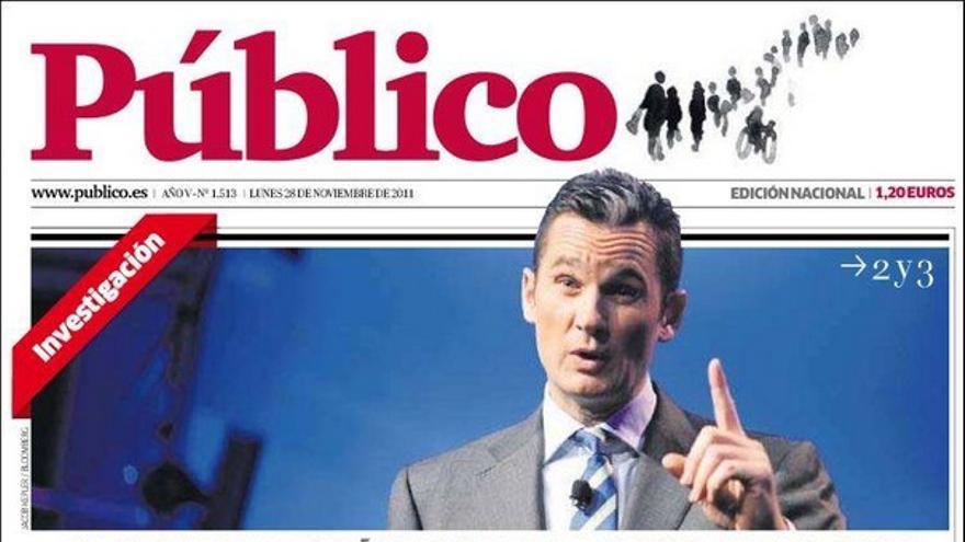 De las portadas del día (28/11/2011) #11