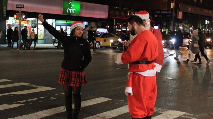 SantaCon, una ruta de borrachera para dar la bienvenida a la Navidad
