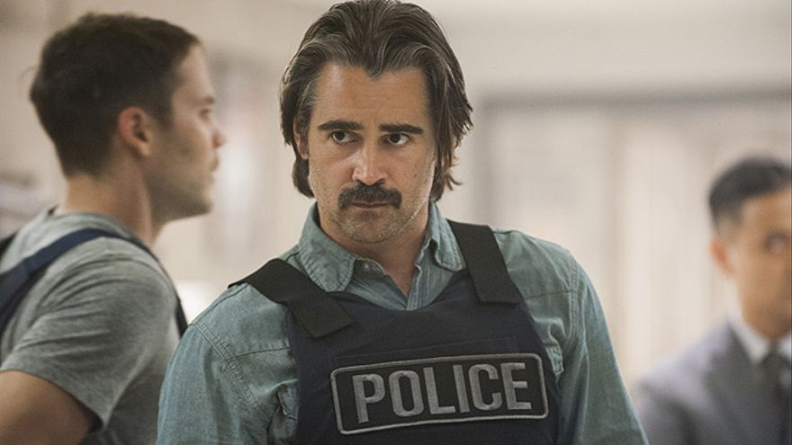 Colin Farrell en la segunda temporada de 'True Detective'
