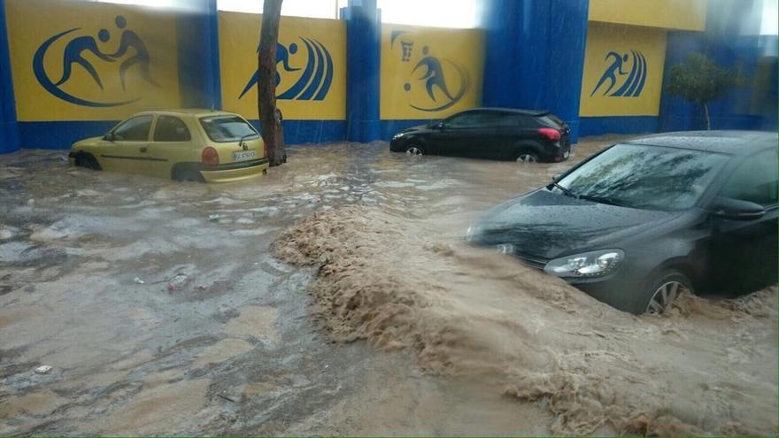 Inundaciones en Gran Canaria