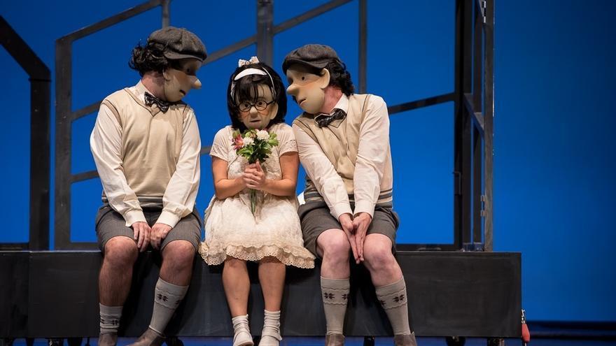 Las compañías Marie de Jongh y Tartean Teatro deleitarán a los niños con 'Amour' en el Palacio de Festivales
