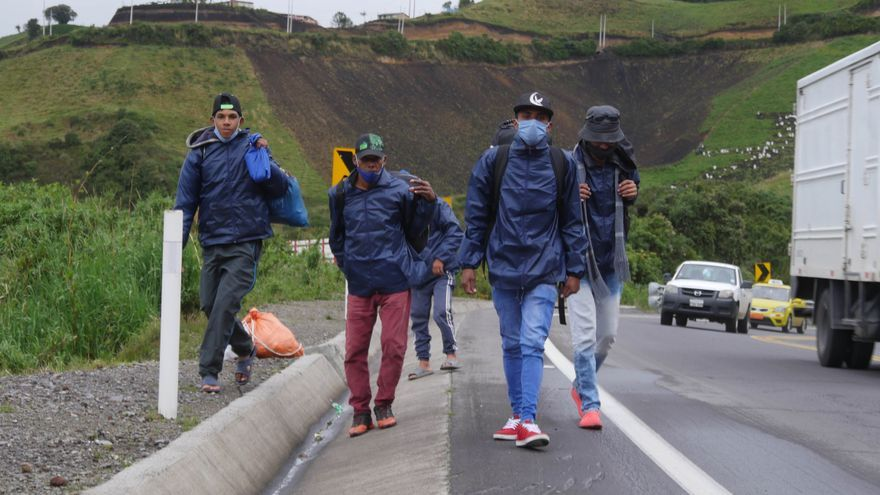 Ecuador requiere 237 millones de dólares para atender a 430.000 migrantes venezolanos