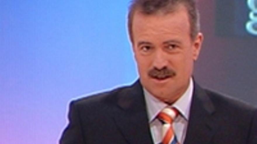 Manuel Campo Vidal, uno de los presentadores.