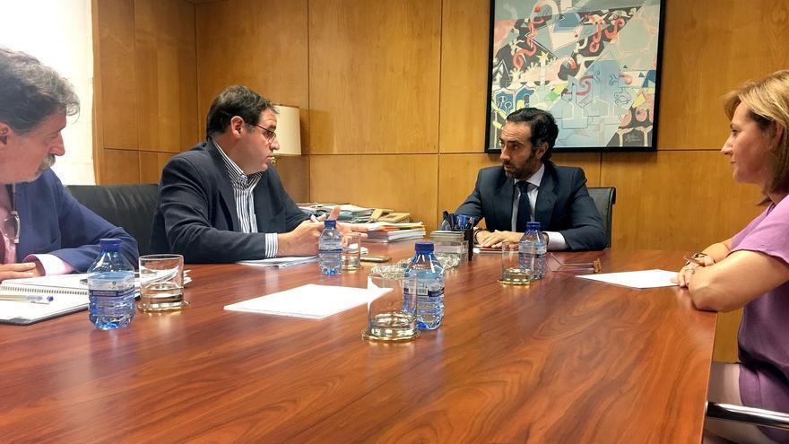 Reunión diputación de Cuenca y ministerio de Fomento