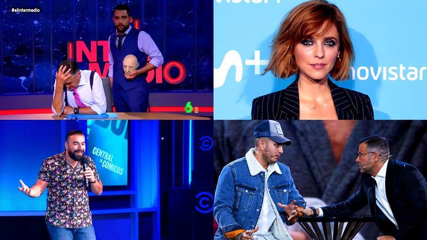 Algunos de los protagonistas de las polémicas del año en TV